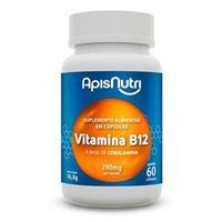 Vitamina B12 280mg 60 cápsula apisnutri