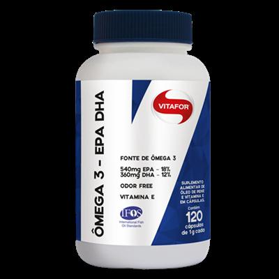 Omega 3 EPA DHA 120 cápsulas Vitafor