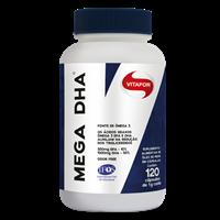 Mega DHA 120 cápsulas 1g vitafor