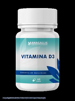 Vitamina d3 2000ui 60 cápsulas